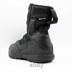 Nike Sfb Zone 2 8 Gore-tex Noir Hommes Taille 8,5 Bottes Tactiques Aq1199-001 Nouveau