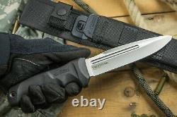 Nouveau Kizlyar Supreme Military Combat Tactical Knife Centurion Aus-8 Steel Russia