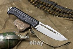 Nouvelle Russie Kalachnikov Préoccupation Militaire Tactique De Chasse Couteau Baikal K340 Acier