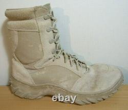 Oakley 11098-889c Military Sf Tactical Combat Lace Up Desert Tan Boots Hommes 9