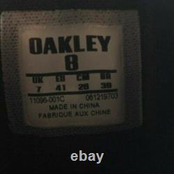 Oakley Si Assault 6 Bottes Militaires Tactiques En Cuir Vibram Hommes 8 Noirs
