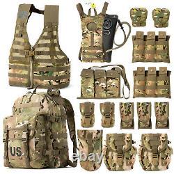 Pack D'assaut Tactique Molle II De Combat Flc Combat Vest Multicam