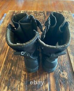Palladium Pampa Black Tactical Combat Boots Military Men's Us Size 10 Rare