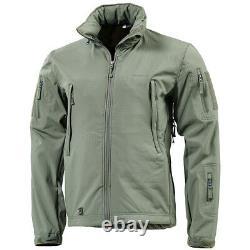 Pentagone Artaxes Tactique Softshell Army Hommes Veste De Combat Randonnée Grindle Vert