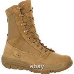 Rocky Rkc042 8 Bottes De Combat Tactiques De Service Militaire Coyote Brown Légères