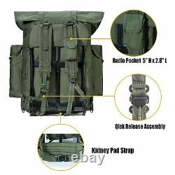 Sac À Dos Militaire Alice Pack Tactical Army Avecframe Olive Drab