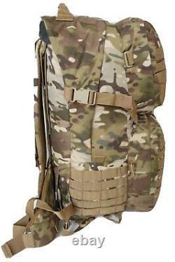 Sac À Dos Tactique De Combat Militaire Multicam 45l Molle 900d Utx Buckles Armée