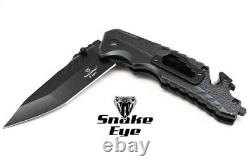 Snake Eye Tactical Heavy Duty Military Combat Spring Assisted Knife