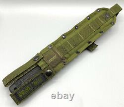 Sog Seki-japon Seal 2000 Couteau Tactique Militaire Avec Gaine Spec-ops De L'ancienne École