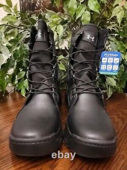 Sous Armour Mens Fnp Tactical 8 Bottes Noir 1287352-001 Taille 9.5