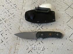 Steve Woods / Wilson Combat (c. U.b.) Couteau À Lame Utilitaire De Combat