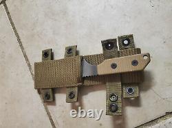 Strider Tigerstripe Fixed Blade Tactical Combat Knife. Modèle Db-l Nsn