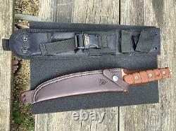 Tops Us Couteau De Combat Exclusive Couleur 1 De 1 Made- 2 Feuilles