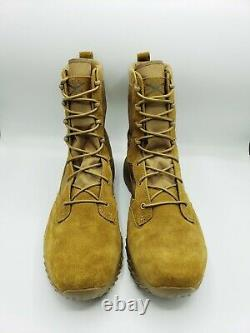 Under Armour Jungle Rat Tactical Boots Men's Coyote Brown Taille 14 1264770-220