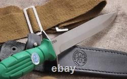Urss Russe Ww2 Tactical Military Scout Couteau Hp-43 Cherry, Vert