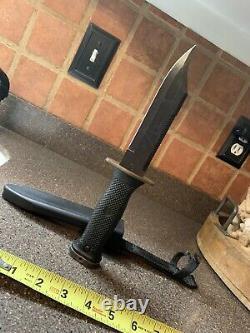 Usn Mk 3 Mod 0 Couteau De Combat Et Gaine