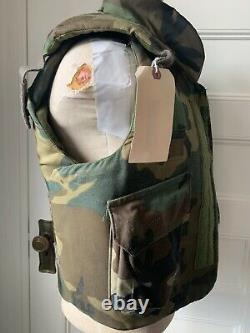 Vintage Era Tactical Fighting Protective Vest Ground Troops Military Size Medium